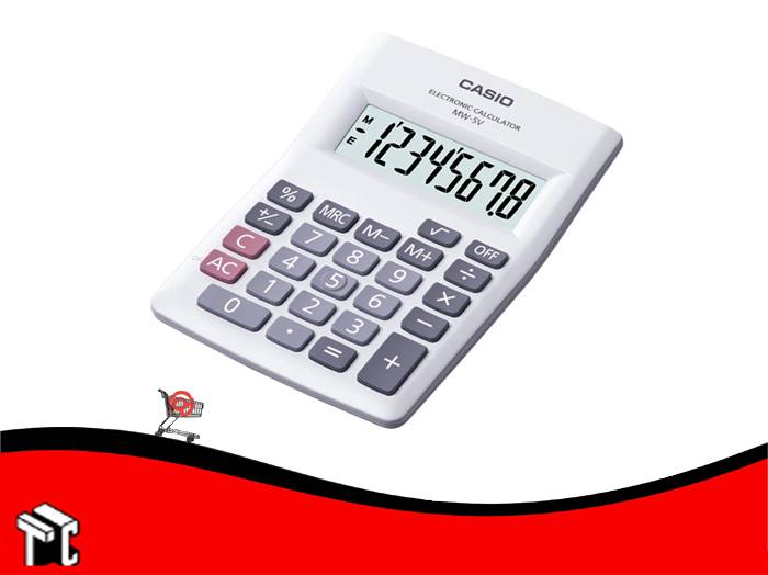 Calculadora Casio Mw-5v 8 Dígitos