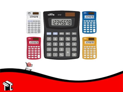 Calculadora Cifra Dt-67 8 Digitos