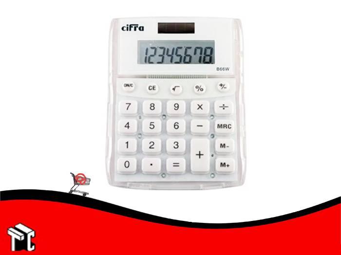 Calculadora Cifra B-66 8 Digitos