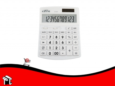 Calculadora Cifra Dt-68 12 Digitos