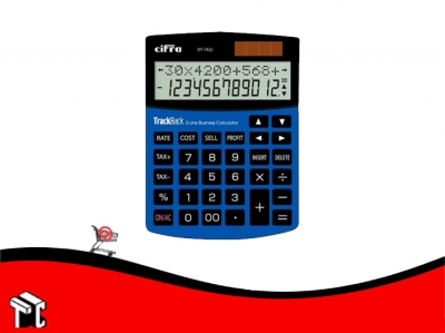 Calculadora Cifra Dt-7422 12 Digitos