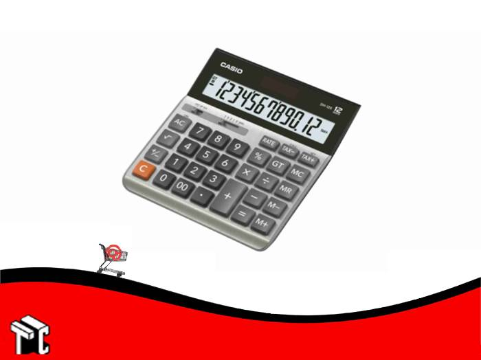 Calculadora Casio Dh-120 12 Dígitos