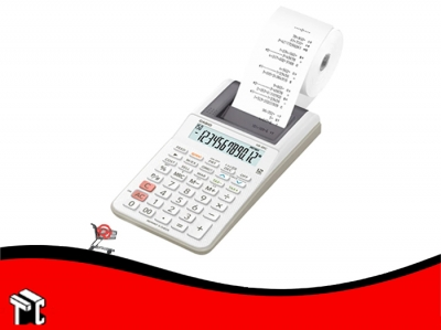 Calculadora Casio Hr-8rc-we Con Impresora