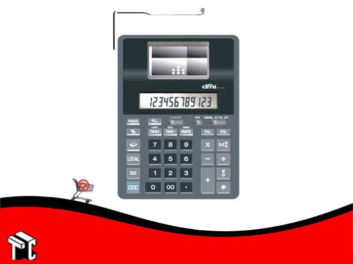 Calculadora Cifra Pr-1200 Con Impresora
