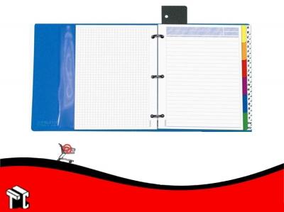 Carpeta A4 Húsares Multiset Con Repuesto Cuadriculado