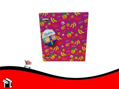 Carpeta Escolar 3x40 Rivadavia + Repuesto