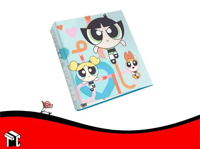 Carpeta A4 2 Anillos Cartone Chicas Super Poderosas