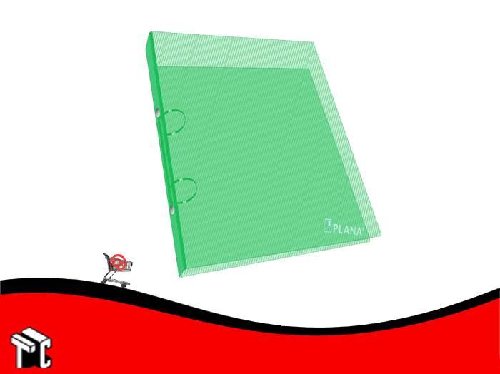 Carpeta Oficio 2x40 Plástica Verde