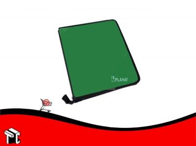 Carpeta Escolar A4 2x40 Pp Verde Con Cierre
