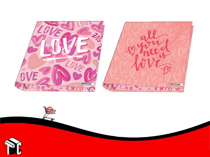 Carpeta A4 2 Anillos Cartone Love