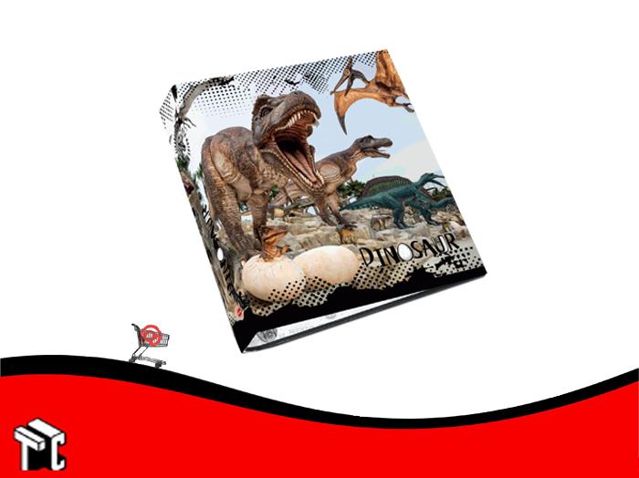 Carpeta Escolar 3x40 Dinosaurio Util-of