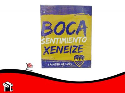 Carpeta De Dibujo N.3 Boca Juniors