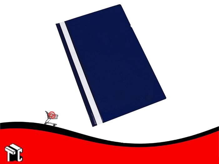 Carpeta A4 Base Opaca Tapa Transparente Util-of Azul