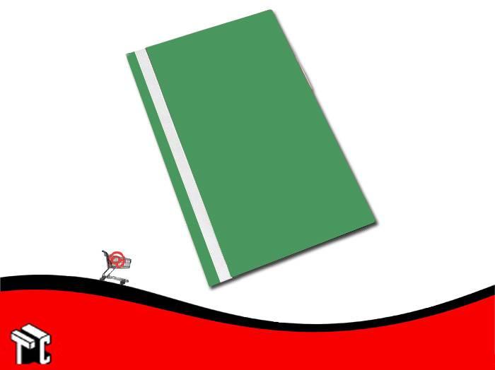 Carpeta A4 Base Opaca Tapa Transparente Util-of Verde