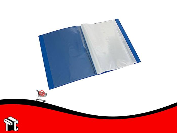Carpeta A4 Con 20 Folios Util-of Azul