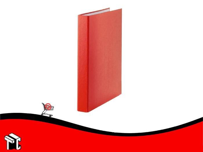 Carpeta Oficio Forrada Util-of 2x40 Rojo