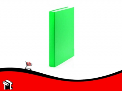 Carpeta A4 Forrada Util-of 2x25 Verde