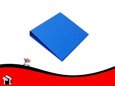 Carpeta A4 Forrada Util-of 2x25 Azul