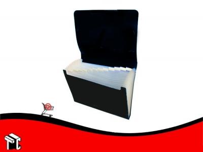 Carpeta A4 Clasificador Con Elástico Util-of Negro