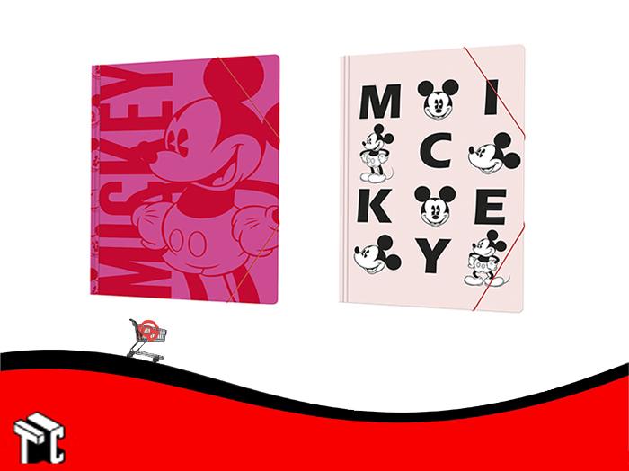 Carpeta 3 Solapas Con Elastico Mickey