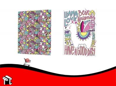 Carpeta 3 Solapas Con Elastico Kawaii