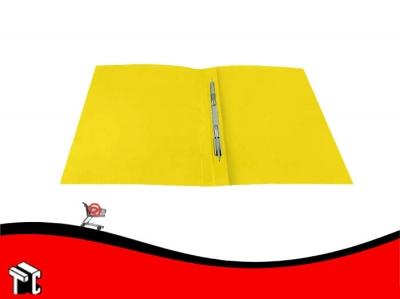 Carpeta Congreso Con Broche Veloz Amarilla