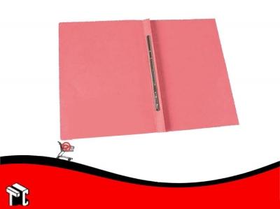 Carpeta Congreso Con Broche Veloz Rosa