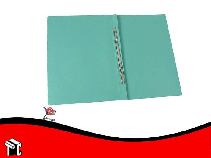 Carpeta Congreso Con Broche Veloz Verde