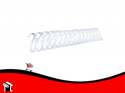 Espiral Plastico 12mm Para 90h Oficio X 50 Ud