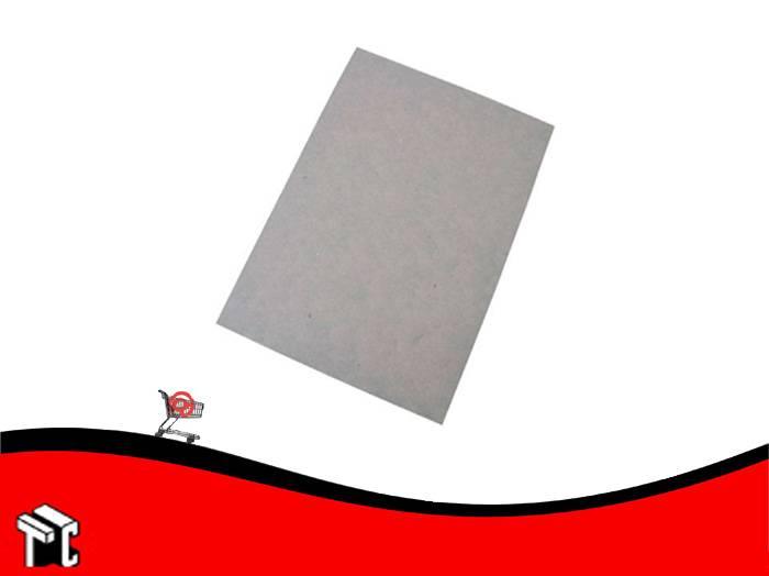 Carton Gris Prensado 1 M X 70 Cm 3 Mm De Espesor