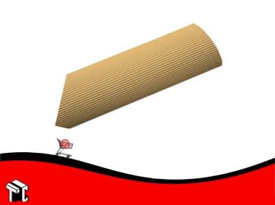 Carton Microcorrugado Natural 50 X 70 Cm