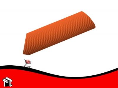 Carton Microcorrugado Naranja 50 X 70 Cm