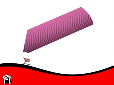 Carton Microcorrugado Rosa 50 X 70 Cm