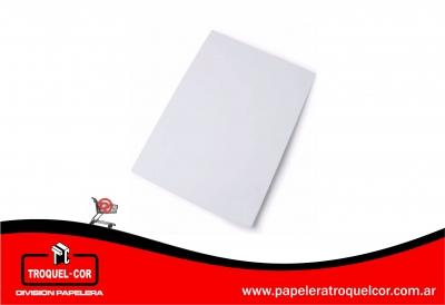 Carton Montado Blanco 50 X 70 Cm