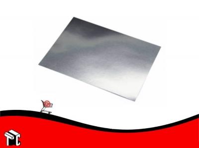 Cartulina Color Plata Metalizada
