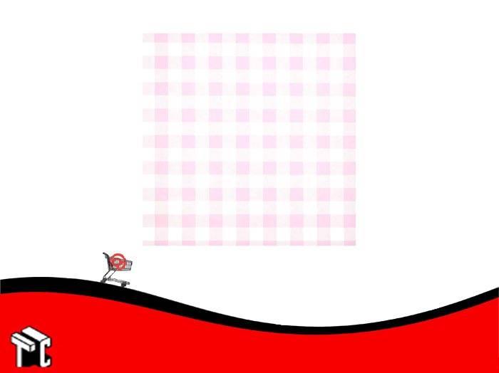 Cartulina Escolar Con Cuadros Color Rosa
