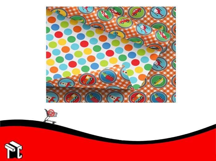 Cartulina Fantasia Autitos 70 × 50 Cm