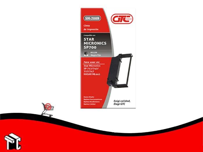 Cinta Para Impresora Star Micronics Sp700 Gtc Negro