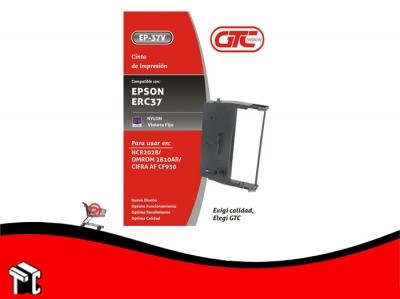 Cinta Alternativa Para Impresora Epson Erc 37 Gtc