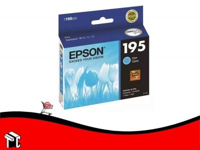 Cartucho Epson 195 Cian 3 Ml