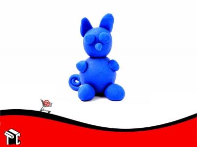Plastilina Playcolor Color Azul X 30 G