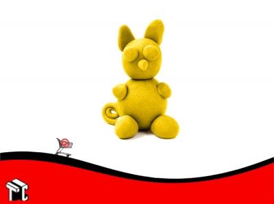 Plastilina Playcolor Color Amarillo X 30 G