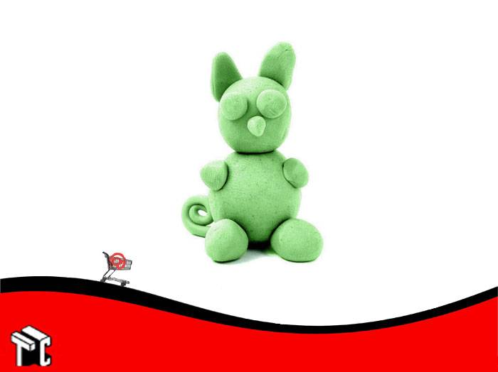 Plastilina Playcolor Color Verde X 30 G