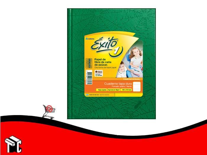 Cuaderno Araña Tapa Dura Éxito × 100 H Ray Verde N.1