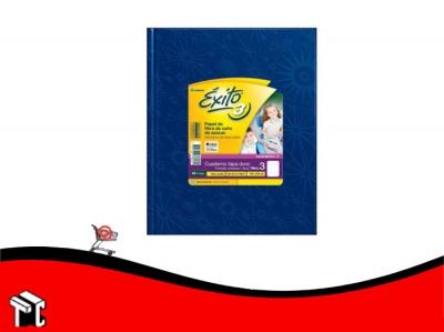 Cuaderno Araña Tapa Dura Éxito X 48 H Ray Azul N.3