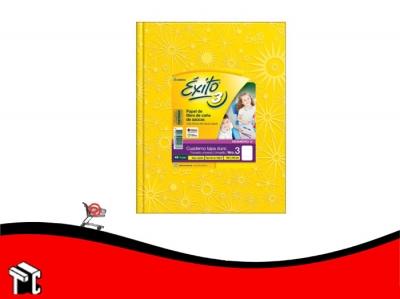 Cuaderno Araña Tapa Dura Éxito X 48 H Ray Amarillo N.3