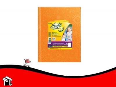 Cuaderno Araña Tapa Dura Exito X 48 H Ray Naranja N.3