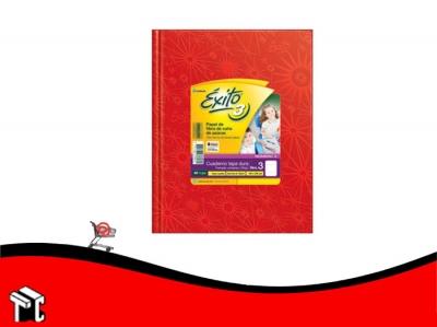 Cuaderno Araña Tapa Dura Éxito X 48 H Ray Rojo N.3