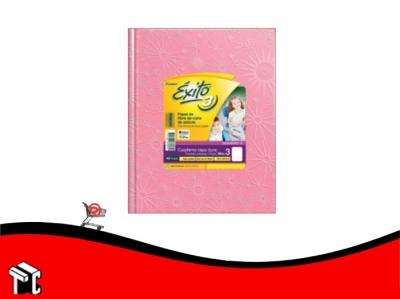 Cuaderno Araña Tapa Dura Éxito X 48 H Ray Rosa N.3