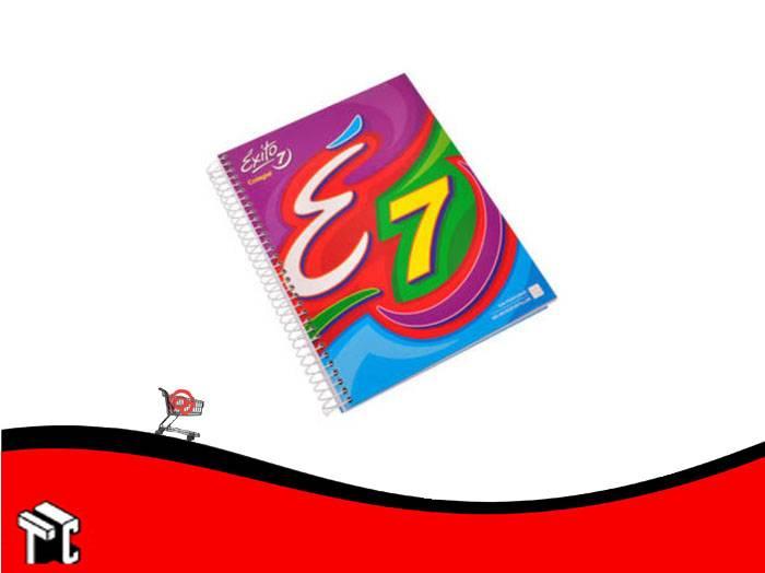 Cuaderno Con Espiral Tapa Dura Éxito 21 × 27 Colegial Núm. 7 100 Hojas Rayado